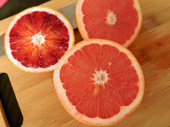 Blood Orange and Grapefruit 1
