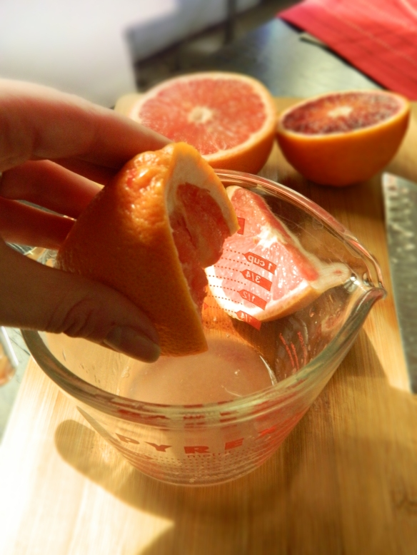 Blood Orange and Grapefruit 2