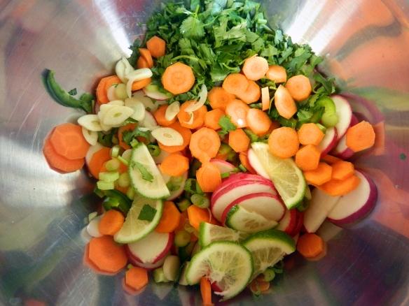 Taco Pickle Vegetables